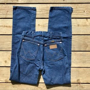 Wrangler high waisted jeans